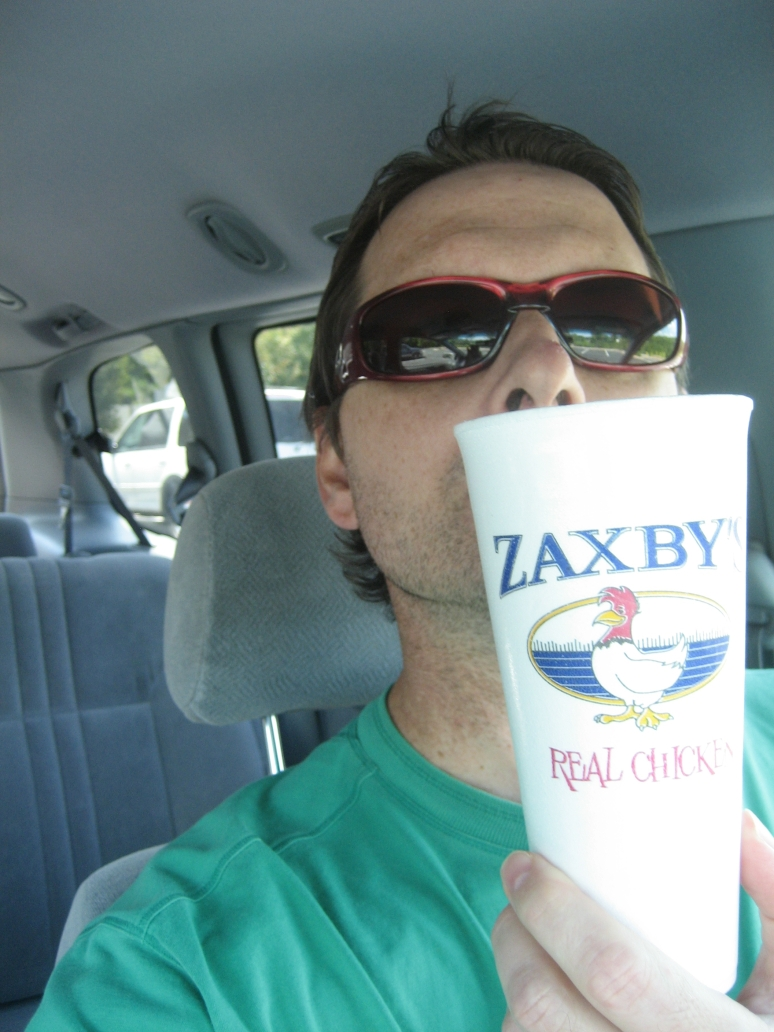 Zaxby's Tea and ICE...the ICE from Zaxby's has it's own Facebook Page!