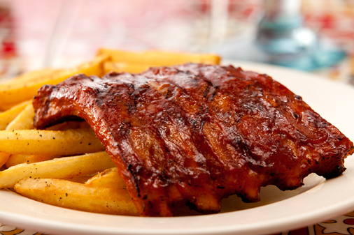 Half rack of Chili's Ribs