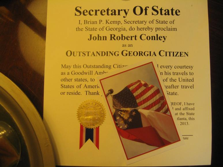 Georgia citizenship, good citizen, goodwill,